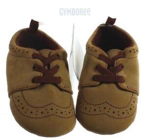 2ffd0032ff5b Gymboree Baby Boy s Woodland Tail Tan Light Brown Crib Shoes Soft ...