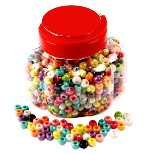 Pony Beads in a Tub 1,000