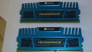 Corsair-Vengeance-4-Go-2x2GB-Memoire-RAM-DESKTOP-PC3-12800-DDR3-1600-CL9-Bleu