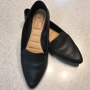 ME TOO CORI Womens Sz 8M Black Leather