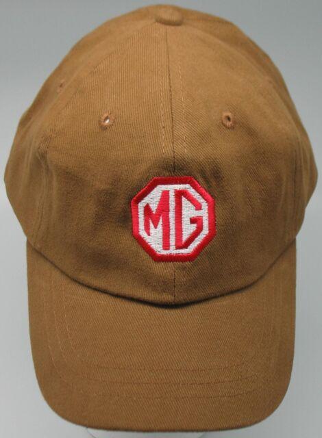 MG MGA MGB MIDGET MGBGT MGTC MGTD MGTF EMBROIDERED HAT BROWN CAP