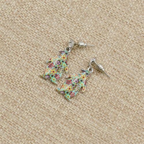 Cute Cartoon Animals Shaped Drop Earrings Ear Stud for Women Jewelry Gifts