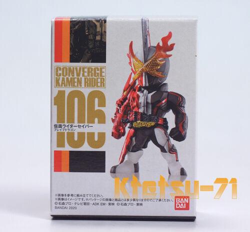 CONVERGE KAMEN RIDER 19 Saber Brave dragon #106 Figure BANDAI Candy toy