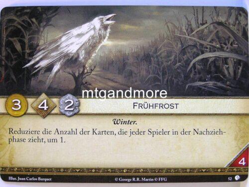 A Game of thrones 2.0 lunaires 1x #052 frühfrost-Lion de Castral
