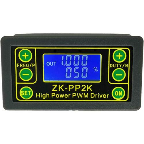 ZK-PP2K PWM Speed Controller Cycle Regulator Switch Dimmer Digital Pulse Driver
