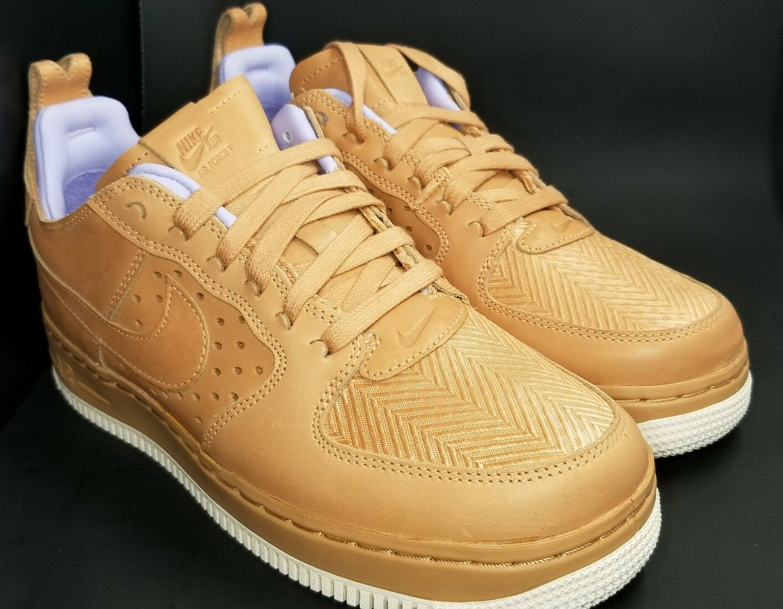 Nike Air Force 1 CMFT Size 8.5 Women's 921072-200 TC SP Cognac Purple Tan shoes