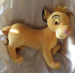 "Disney Hasbro Simba Lion King Large Plush Stuffed Animal 20"" x 20"""