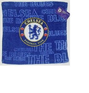 Official Chelsea Football Club 100 Cotton Face Flannel Towel 30cm X 30cm Ebay
