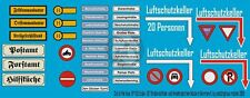 Peddinghaus 1/87 (HO) German Road / Traffic Signs & Street Name Plates WWII 933