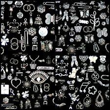 30g Tibetan Silver Mixed Charms Beads Jewellery Making Crafts Mix UK SELLER B197