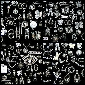 30g-Random-Mix-Tibetan-Silver-Charms-Beads-Findings-Jewellery-Mix-Craft-B197