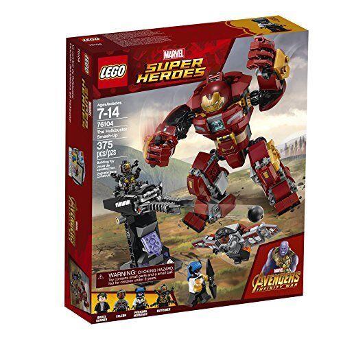 LEGO Marvel Marvel Marvel Super Heroes Avengers Infinity War The Hulkbuster 76104 (375 Pcs) ce475a