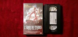 CASSETTE-VIDEO-VHS-L-ARMEE-DES-TENEBRES-EVIL-DEAD-3-TBE-1994
