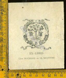 Ex Libris Antico Originale Araldica a 823 fMhyUdvi-09084611-695277431