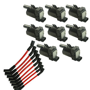 set of ignition coil package 8 ignition coils kit 8. Black Bedroom Furniture Sets. Home Design Ideas
