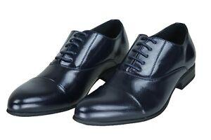 Eleganti-scarpe-uomo-Class-blu-vernice-calzature-man-shoes-cerimonia-da-40-a-45