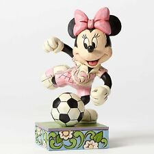 Enesco Disney Traditions Jim Shore Minnie Mouse Goal! Soccer Figurine 4050397