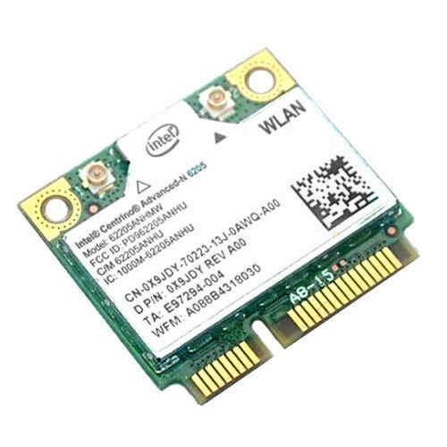 Intel Centrino Advanced-N 6205 Wi-Fi Adapter Drivers for PC
