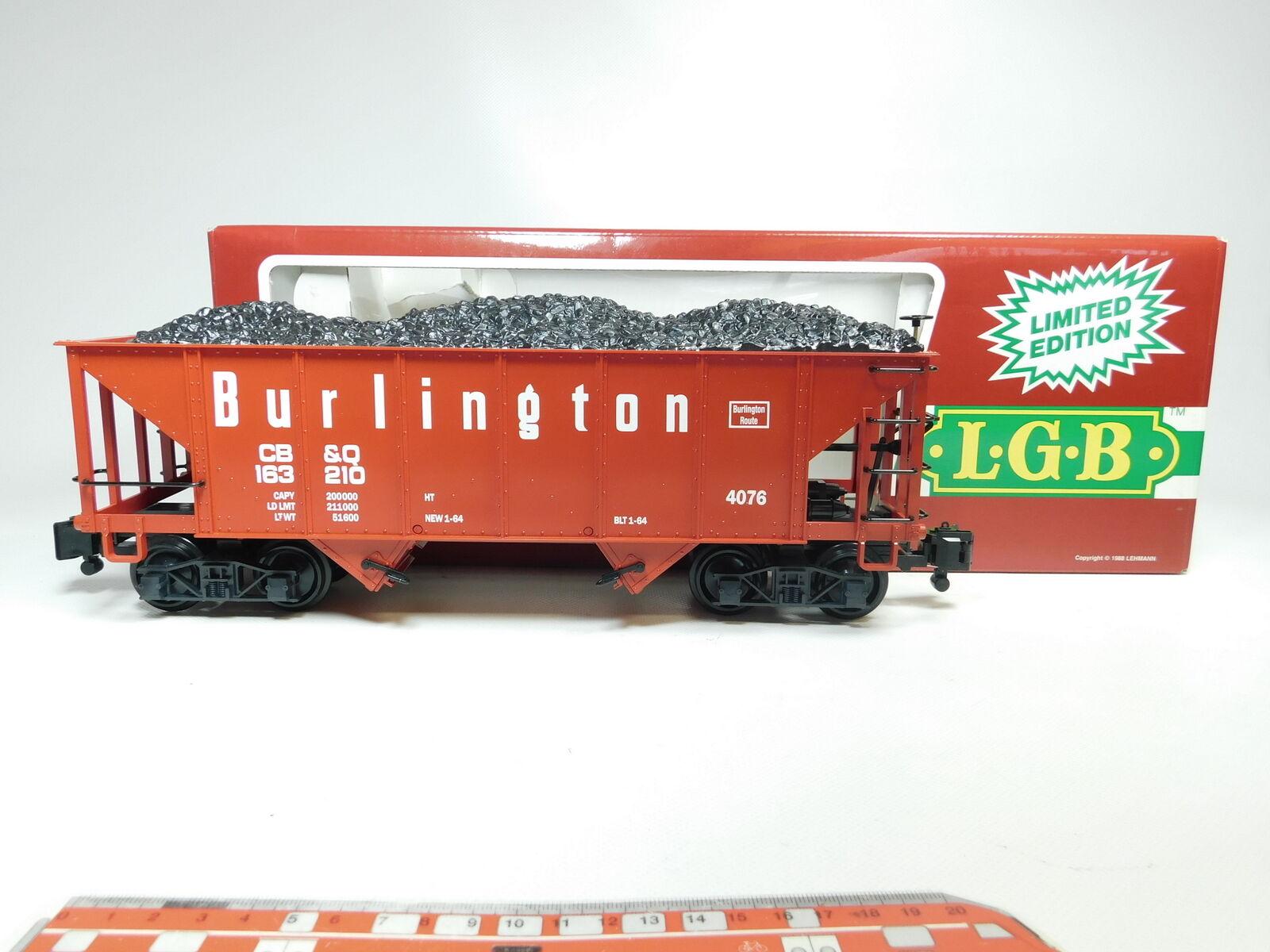 BI668 -2LGB Spur G  DC 4076 - M 01 US -Hopper  G FRAMTID 65533;sdrog;terwagen Klauenkopplung, TOP OVP