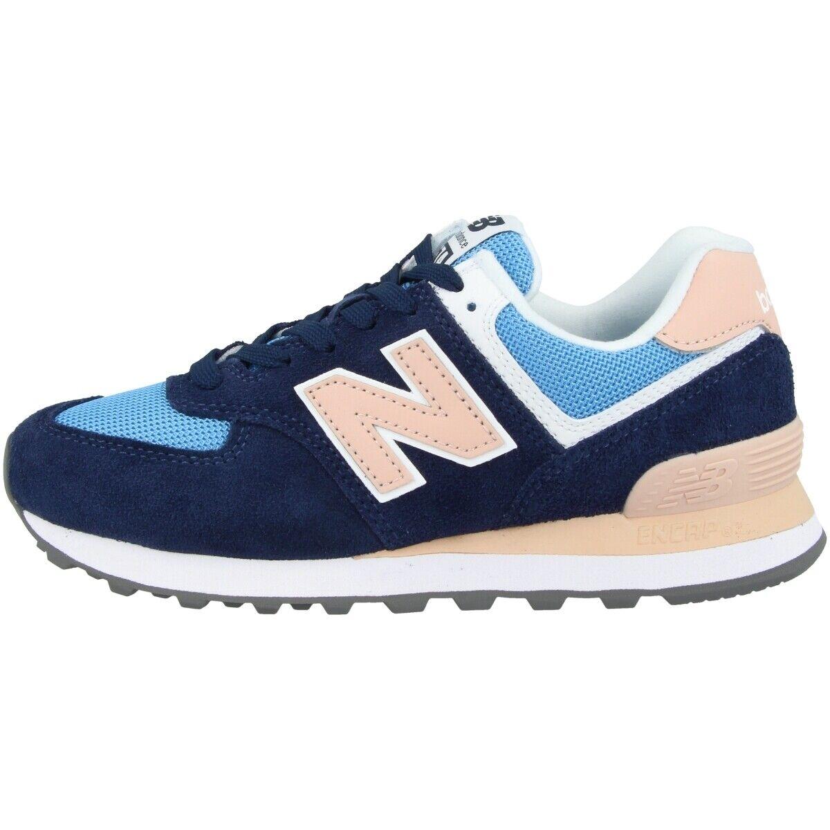 New Balance WL 574 WND Schuhe Damen Sport Turnschuhe Turnschuhe pigment WL574WND