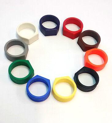 Rational Neutrik Xlr Coding Ring (various Colours) In Bags Of 10 Halten Sie Die Ganze Zeit Fit