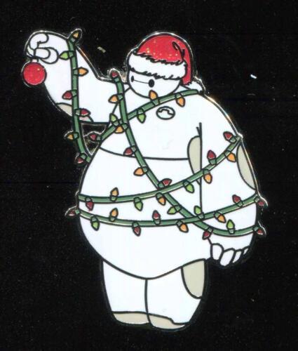Baymax Holiday Christmas Lights Disney Pin 125418