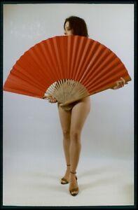 bg09 Pinup pin up nude model girl woman original vintage