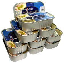 10 x 120 g (1kg/22,49€) DORSCHLEBER IN EIGENEM SAFT 100% NATURBELASSEN KONSERVEN