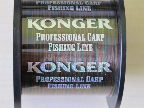 Camo Fishing Line Mono 1000 m Spool 20lb Carp Match Coarse Rainbow Pike Sizes