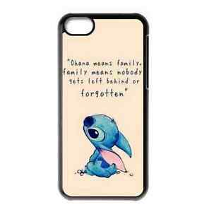 OHANA Cute Lilo amp Stitch Quote Hard Protector Case Cover for iPhone 5 5S - Manchester, United Kingdom - OHANA Cute Lilo amp Stitch Quote Hard Protector Case Cover for iPhone 5 5S - Manchester, United Kingdom