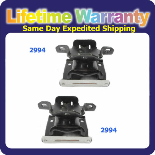 M1016 Front Left /& Right Engine Motor Mount For Chevy GMC 4.3 Mercury 2.5 2994*2