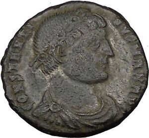 Constantine-I-the-Great-324AD-Ancient-Roman-Coin-Military-camp-gate-i35724