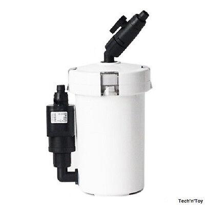SUNSUN HW-603B MINI AQUARIUM EXTERNAL CANISTER FILTER 106 GPH UP TO 20 GALLON