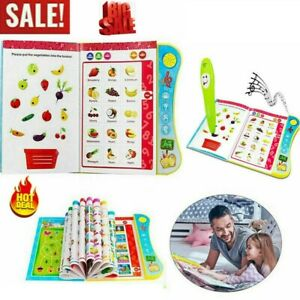 NEW-Learning-Toys-For-3-Year-Old-Interactive-Book-Toddler-Educational-Kids-Child