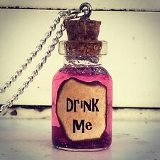 Drink Me Necklace-Alice In Wonderland-Jewellery-Christmas Stocking Filler