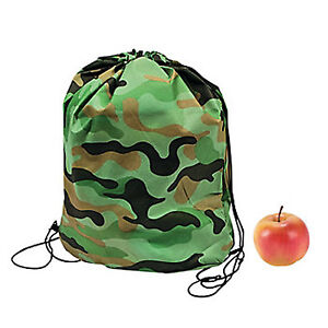 Backpack Camouflage Army Back Pack Lightweight Camo Kit Party Bag Free Postage