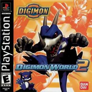 Digimon-World-2-PS1-Great-Condition-Fast-Shipping