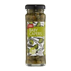 Coles-Baby-Capers-110g