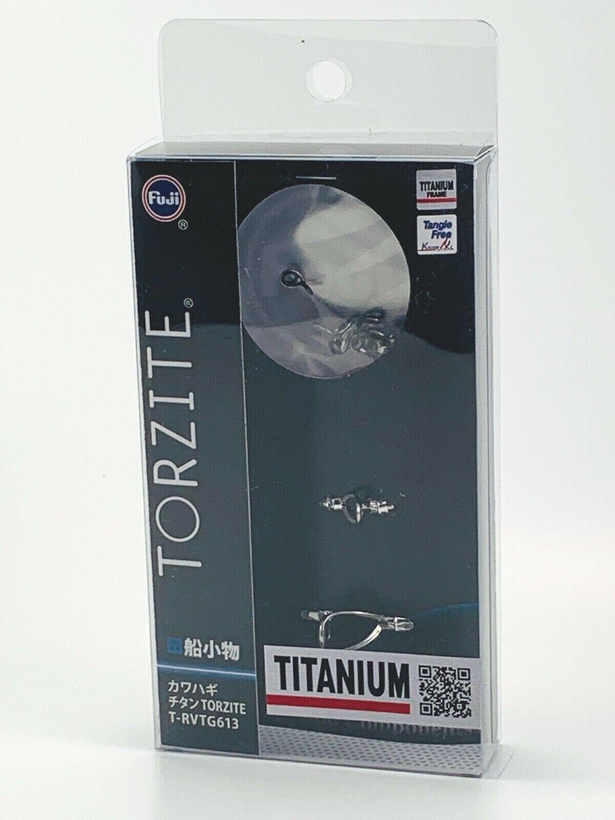 Fuji original Titanium TORZITE Bait Finesse Guide Set T-RVTG 613 Libre SHIPPING