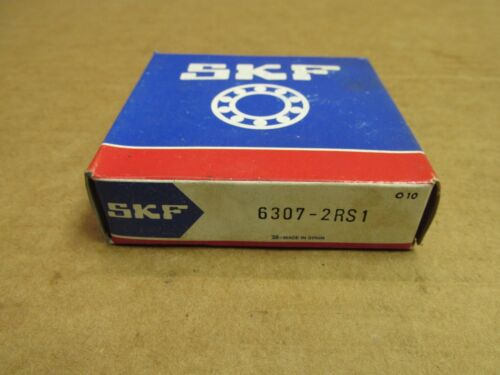 NIB SKF 63072RS1 BEARING RUBBER SEALED 6307 2RS1 6307-2RS 35x80x21 mm NEW