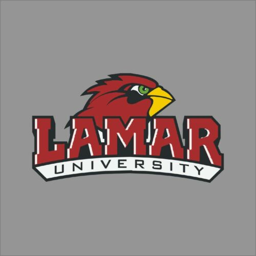 Lamar Cardinals #2 NCAA College Vinyl Sticker Decal Car Window Wall