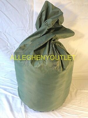Us Army Military Waterproof Clothes Clothing Gear Wet Weather Laundry Bag Gc Ebay
