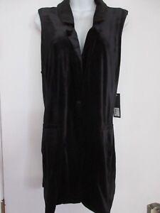 Nwt Gnw Vest Stretch Xl Length Size Tunic Velour 0wwnaC8q
