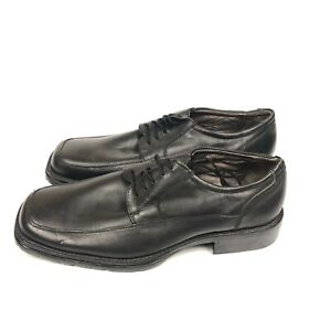 Giorgio-Brutini-Mens-Size-11-1-2-Black-Oxford-Casual-or-Dress-Shoes-Lace-Up