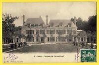 cpa 60 - MÉRU (Oise) CHATEAU CORBEIL CERF Marquis de LUBERSAC Jardins et Parcs