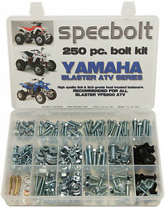 yFS200 Yamaha BLASTER ENGINE Bolt Kit Nuts SUPER BOLT KIT Washers Bolts more