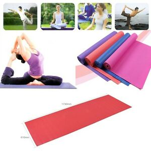 Portable Yoga Pilates Exercise Fitness Sponge Foam Mat