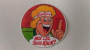 Selbstklebend-Vintage-Kickers-Moi-Je-Suis-Kick-Sehr-Bon-Etat