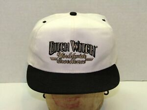 Vintage Men s Ditch Witch Baseball Cap Worldwide Excellence Snap ... 15d318a2e98