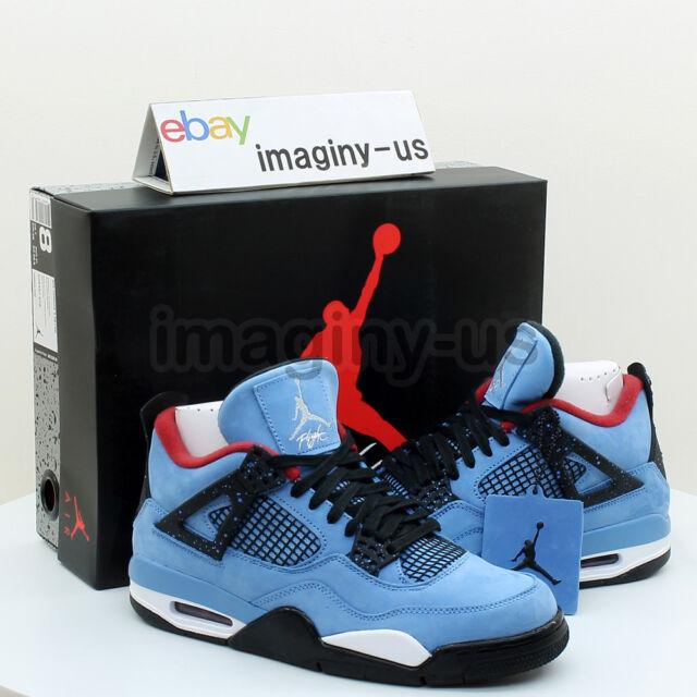 best loved 98f88 36c25 Nike Air Jordan Retro 4 IV Travis Scott Cactus Jack Size 11.5 308497 406